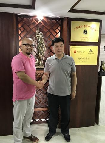 Abogado abogados china inversión Shandong